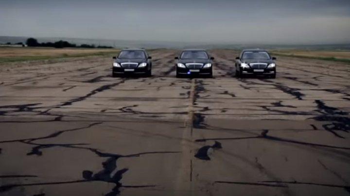 Mercedes S Class! Igor Dodon are o mașină nouă, după accidentul de săptămâna trecută