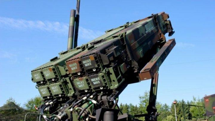 Statele Unite vor retrage o parte din rachetele Patriot din Orientul Mijlociu