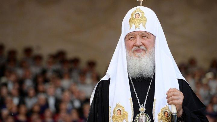 """Patriarhul Kiril: O """"conspirație globală"""" vrea să distrugă Biserica Ortodoxă Rusă"""