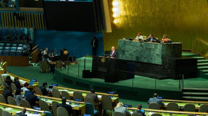 Pavel Filip: Moldova trebuie să participe la asigurarea păcii şi bunăstării la nivel internaţional