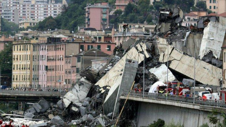 Moment emoţionant. Victimele tragediei de la Genova au fost comemorate