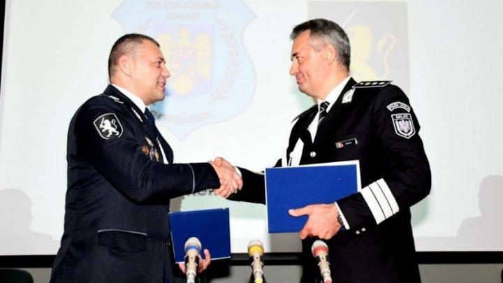 Poliţiştii din Cahul vor coopera cu cei din Galaţi în domeniul ordinii publice, a siguranţei rutiere şi a controlului activităţilor comerciale