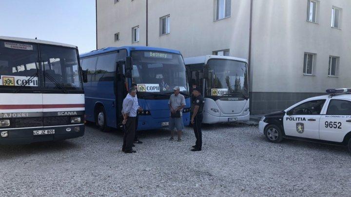 De azi copiii vor fi în siguranță datorită poliției Capitalei care a verificat autobuzele de transport școlari