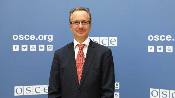 Claus Neukirch, noul şef al Misiunii OSCE în Moldova şi mediator OSCE în procesul de reglementare transnistreană