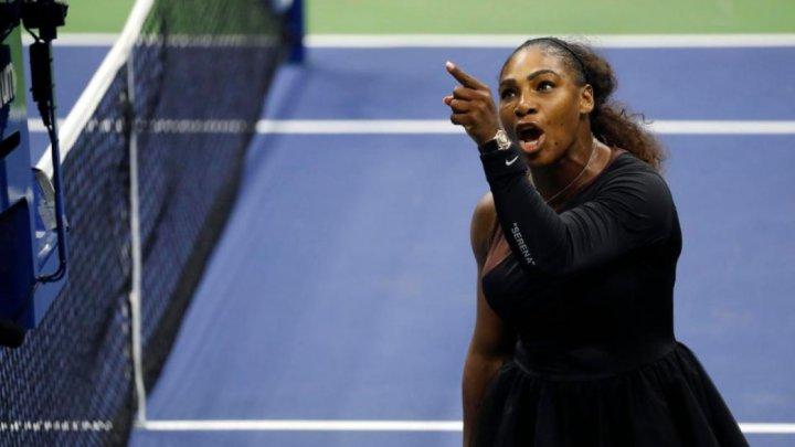 Amendă uriaşă pentru Serena Williams în urma crizei de nervi din finala turneului US Open