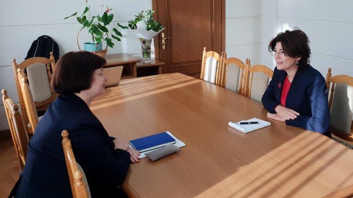 Silvia Radu s-a întâlnit cu Svetlana Cebotari. Despre ce au discutat doamnele de la Sănătate