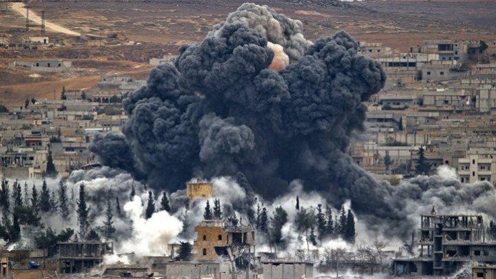 Armata rusă a confirmat că a bombardat ţinte teroriste în Idlib