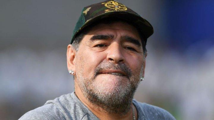 Diego Maradona, amendat pentru criticile sale împotriva arbitrajului