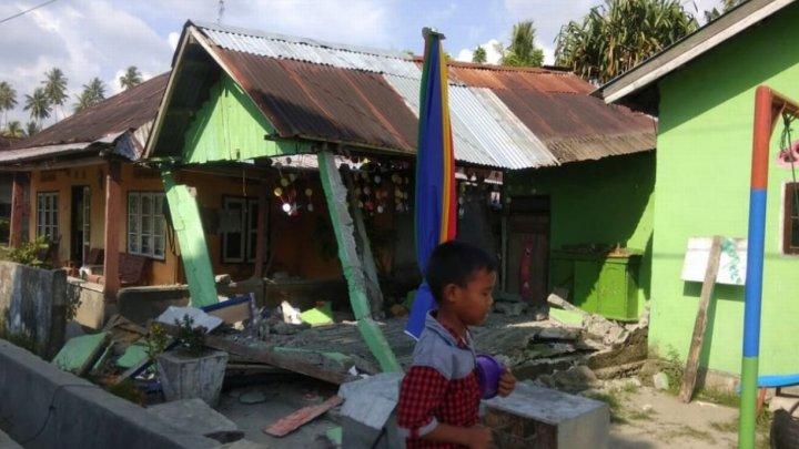 CUTREMUR DEVASTATOR în largul insulei Sulawesi. Este al doilea, cel mai puternic, produs astăzi în zonă