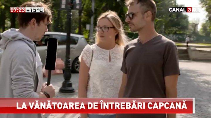 Întrebarea care i-a pus în încurcătură pe locuitorii Capitalei. Câţi au ştiut răspunsul (VIDEO)