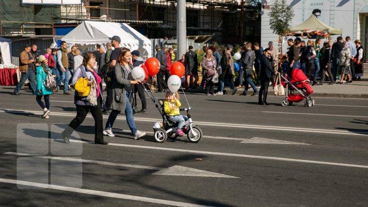 Începând cu ora 22:00, circulația rutieră va fi sistată pe unele străzi din Capitală