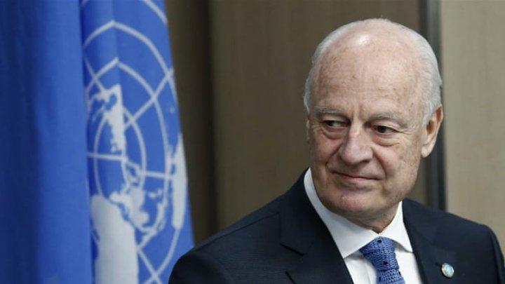 Emisarul ONU pentru Siria, Staffan de Mistura, se va retrage din funcţie la sfârşitul lunii noiembrie. Care este motivul