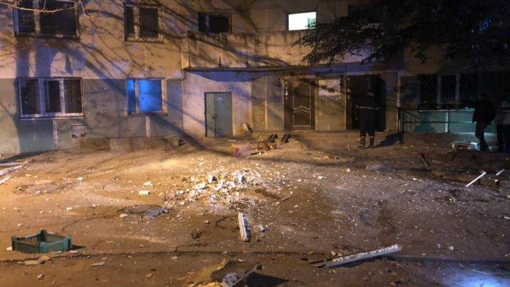 EXPLOZIE în sectorul Râșcani. Poliția și pompierii sunt la fața locului (FOTO)