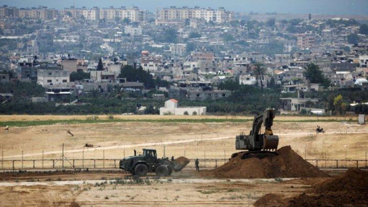 Israelul a distrus un tunel din Fâşia Gaza, construit de militanţii Hamas