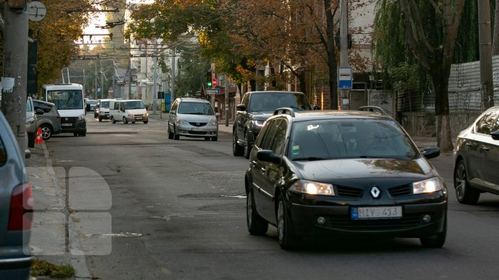 InfoTrafic: Flux majorat de transport în Capitală. Cum se circulă la această oră