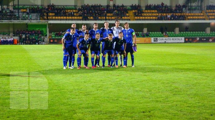 Echipa naţională de fotbal a Republicii Moldova a urcat două poziţii în clasamentul FIFA