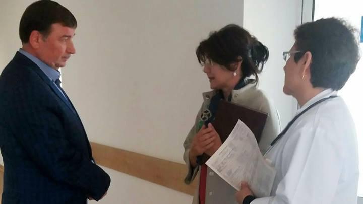 Silvia Radu, control fulger la Spitalul Raional din Hâncești. Ce a găsit acolo ministrul Sănătății (FOTO)