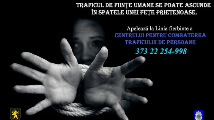 Astăzi este marcată Ziua Europeană împotriva Traficului de Persoane