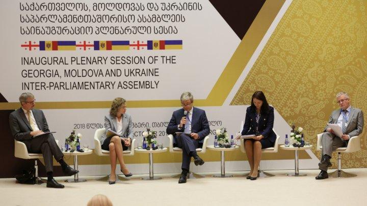 Moldova, Georgia și Ucraina încep să gândească strategic și să acționeze ca o regiune