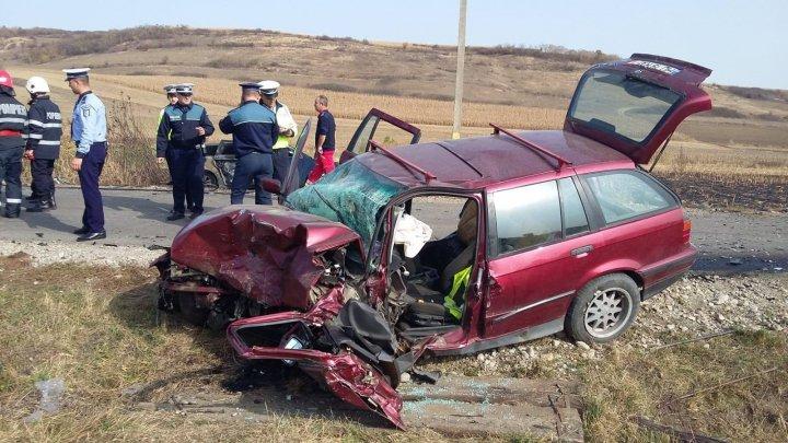 ACCIDENT TERIBIL în România. O persoană a murit, iar alte şapte au fost rănite (FOTO)
