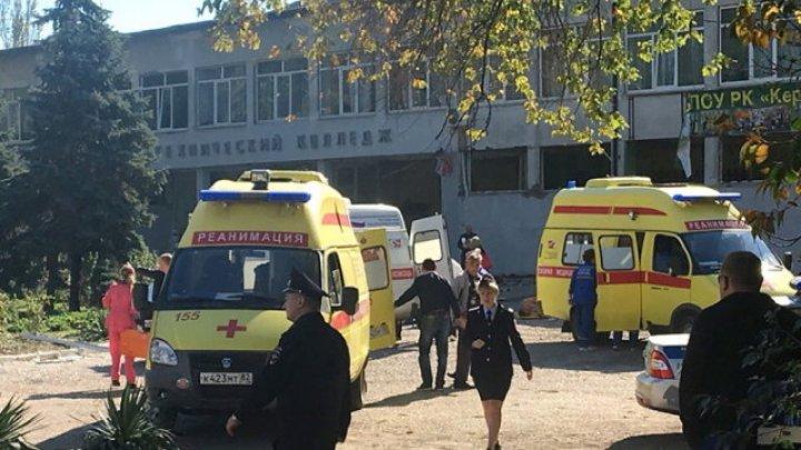Studenţii colegiului din Kerci vor putea reveni mâine la ore