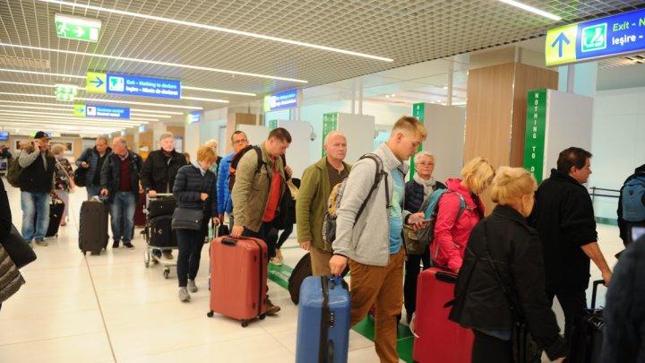 Virusul, oprit cu termometrul. Termoscanerul de pe Aeroportul Internaţional Chişinău, care poate detecta creşterea temperaturii la pasageri, s-a stricat