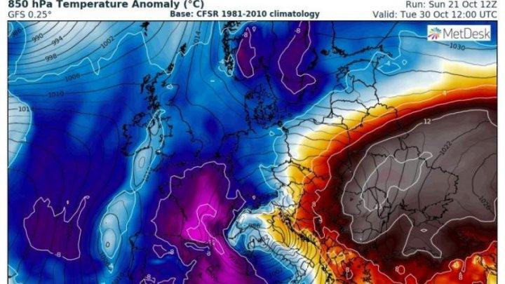 De la iarnă la vară în mai puţin de 48 de ore. Specialiştii europeni anunţă o nouă anomalie meteorologică