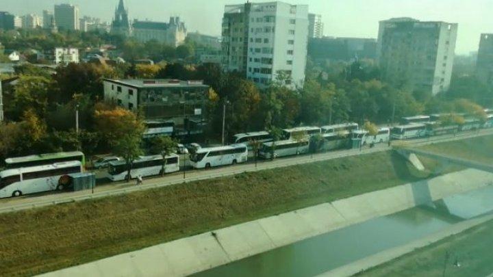 IMAGINEA ZILEI. Pelerinajul Sfintei Parascheva a blocat traficul la Iași (VIDEO)