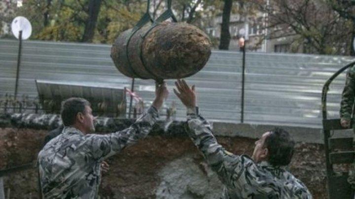 O bombă de 220 de kilograme a fost găsită în centrul Sofiei. Sute de persoane au fost evacuate (FOTO)