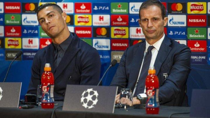 Cum arată ceasul de 2 milioane de euro purtat de Cristiano Ronaldo la o conferință de presă (FOTO)