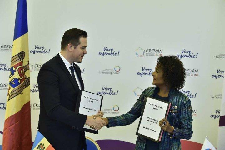 Ministrul Tudor Ulianovschi a semnat Pactul lingvistic între Republica Moldova și Organizația Internațională a Francofoniei