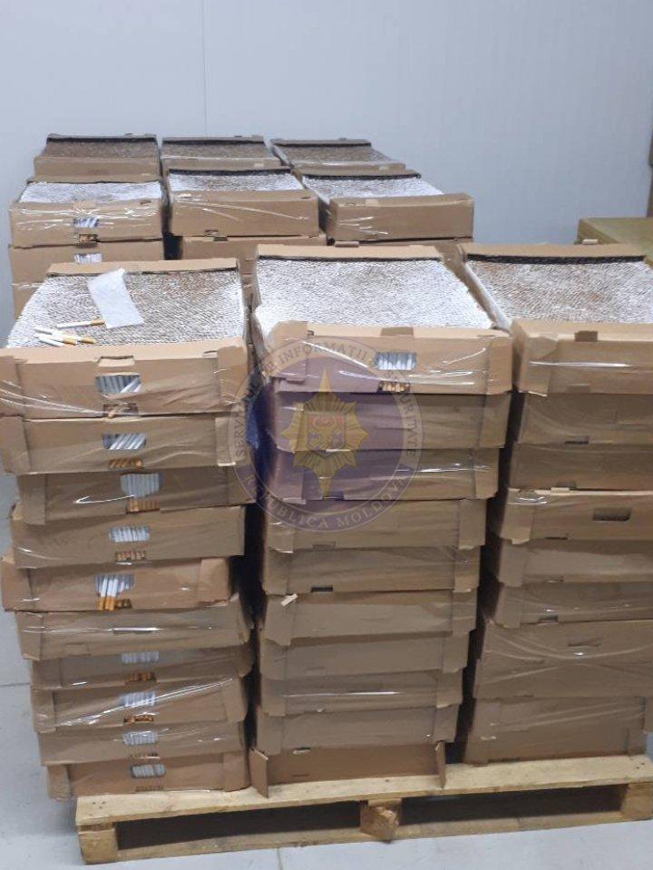 Descinderi SIS la Căuşeni: 2,5 milioane de țigări şi 100 de tone de alcool, descoperite în depozite clandestine
