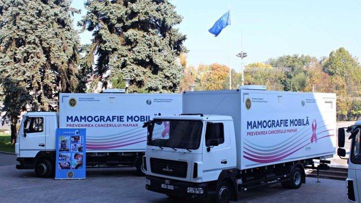 """Orarul consultațiilor mamografiei mobile în cadrul campaniei """"Un doctor pentru tine"""""""