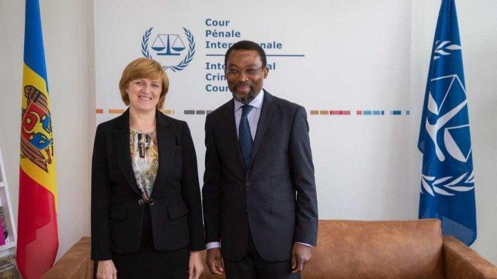 Ambasadorul Tatiana Pârvu a avut o întrevedere cu Președintele Curții Penale Internaționale