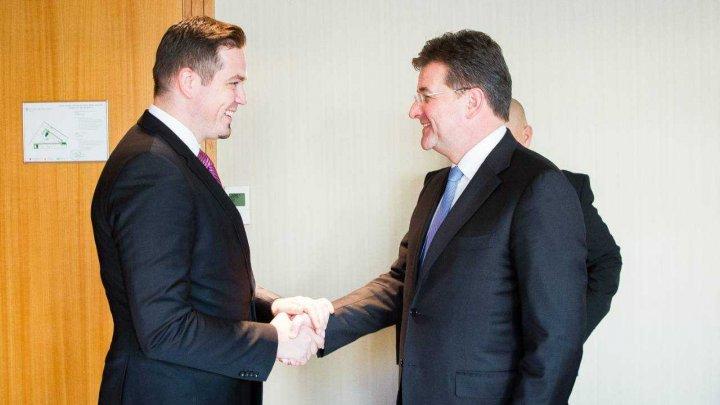 Tudor Ulianovschi a avut o întrevedere cu ministrul Afacerilor Externe al Slovaciei. Despre ce au discutat