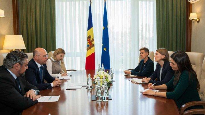 Pavel Filip, către noua Ambasadoare a Suediei la Chișinău: Avem nevoie de sprijinul partenerilor pentru continuarea parcursului european al Republicii Moldova