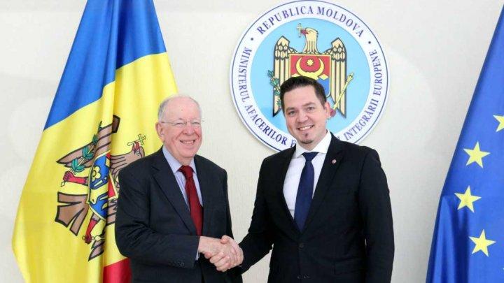 Colaborarea Moldovei cu OMC, discutată de Tudor Ulianovschi cu directorul general adjunct al Organizației, Alan Wolff