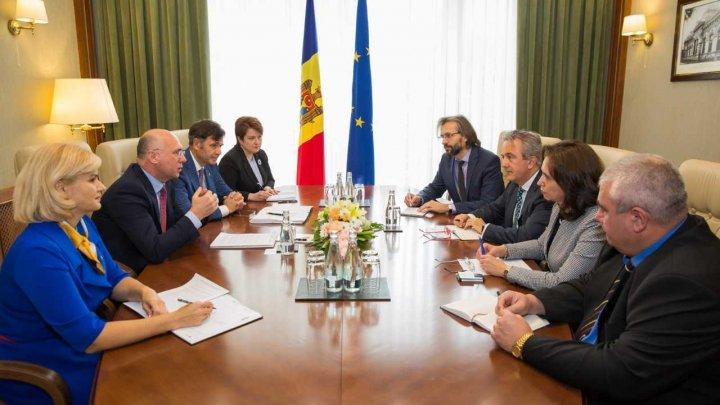 Pavel Filip, către Directorul executiv BERD: Venirea BERD pe piața financiară din Moldova sporește credibilitatea sectorului bancar