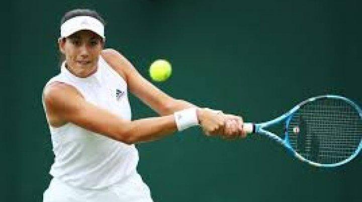 Jucătoarea spaniolă de tenis Garbine Muguruza, în semifinalele turneului de la Hong Kong