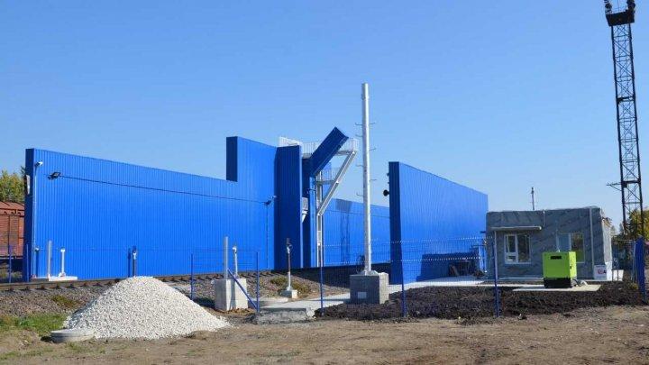Scannerul de la Ocnița, destinat controlului vehiculelor feroviare, va fi dat în exploatare până la finele anului curent