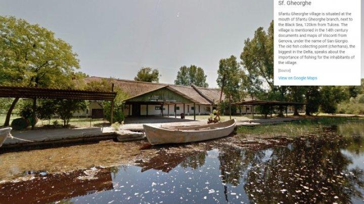 Peisajele Deltei Dunării pot fi explorate şi cu ajutorul Street View pe Google Maps