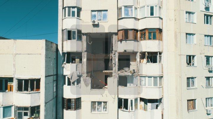Explozie în sectorul Râşcani. Procuratura Generală a deschis un dosar penal pentru OMOR DIN IMPRUDENŢĂ