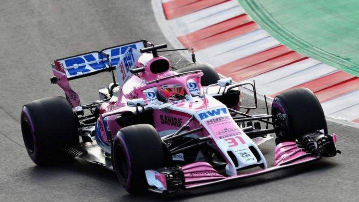 Mexicanul Sergio Perez va pilota pentru echipa Force India şi în 2019