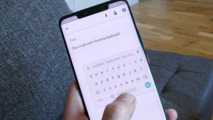 Google a adăugat un nou mod de afişare în tastatura Gboard