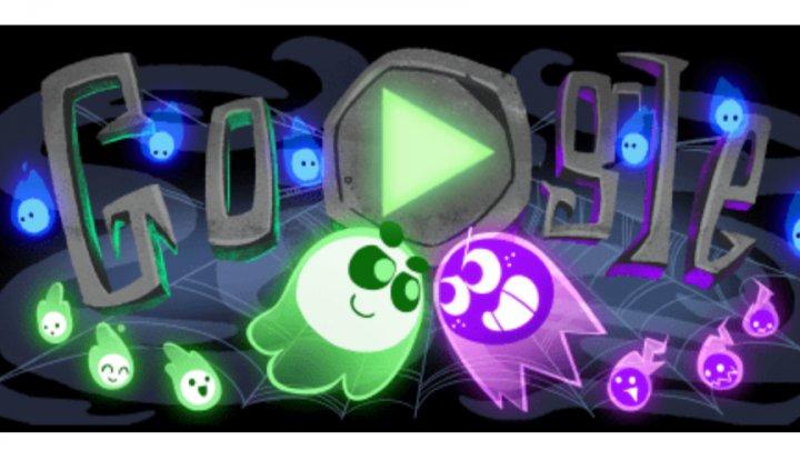 Joc interactiv cu fantome! Google sărbătoreşte Halloweenul printr-un DOODLE special