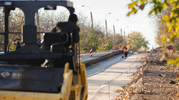 Pavel Filip a inspectat șantierul de construcție a drumului din Speia: Am venit cu o soluție ca acest drum să reziste mulți ani