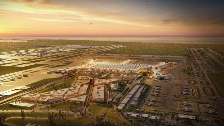 PRIMUL AVION de pasageri a decolat din noul aeroport din Istanbul