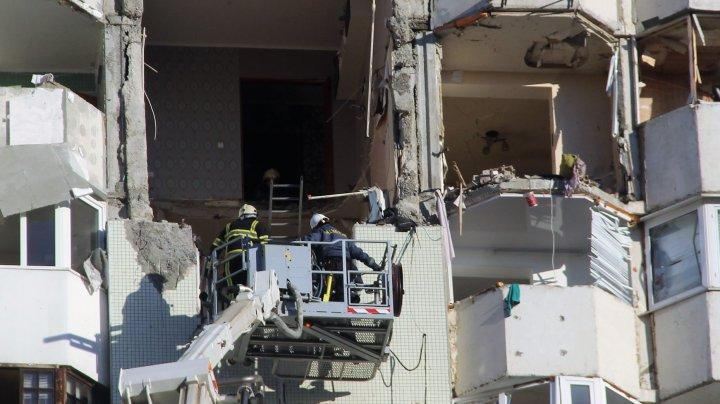 Explozie în sectorul Râşcani. Silvia Radu: Spitalul Feroviar este pregătit să primească sinistraţii atâta timp cât este nevoie