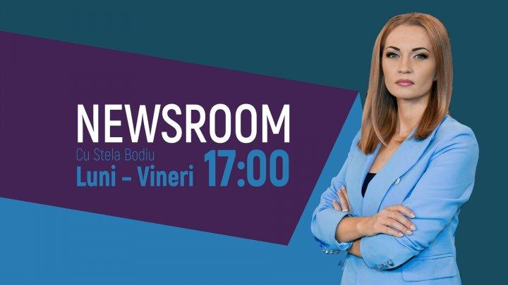 Newsroom revine la PUBLIKA TV prezentat de Stela Bodiu