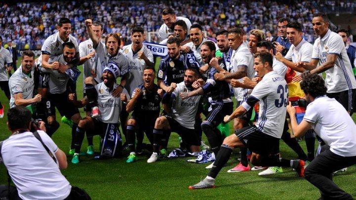 Real Madrid a încasat 88,6 milioane euro în sezonul 2017-2018